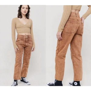 urban outfitters BDG pink acid wash cargo jeans 28